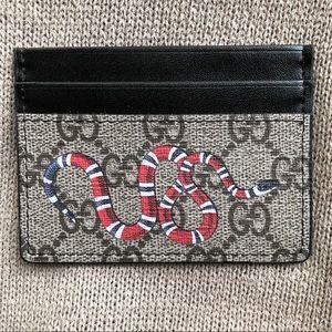 New Gucci Kingsnake Wallet